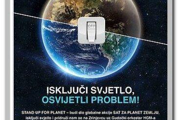 """Grad Bjelovar poziva sve građane da se uključe u akciju """"Sat za planet Zemlju"""" 24. ožujka u 20:30 sati"""