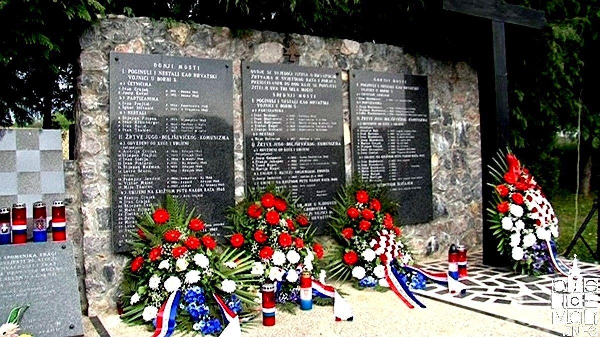 Najavljena 77. obljetnica prvih ratnih zločina u Donjim Mostima