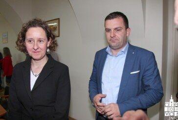 Gradonačelnik Hrebak i ministrica kulture Nina Obuljen Koržinek o budućim gradskim projektima