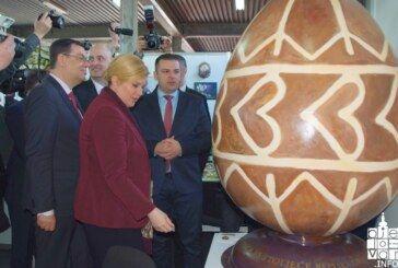 Predsjednica Kolinda Grabar-Kitarović otvorila 21. Proljetni međunarodni bjelovarski sajam u Gudovcu