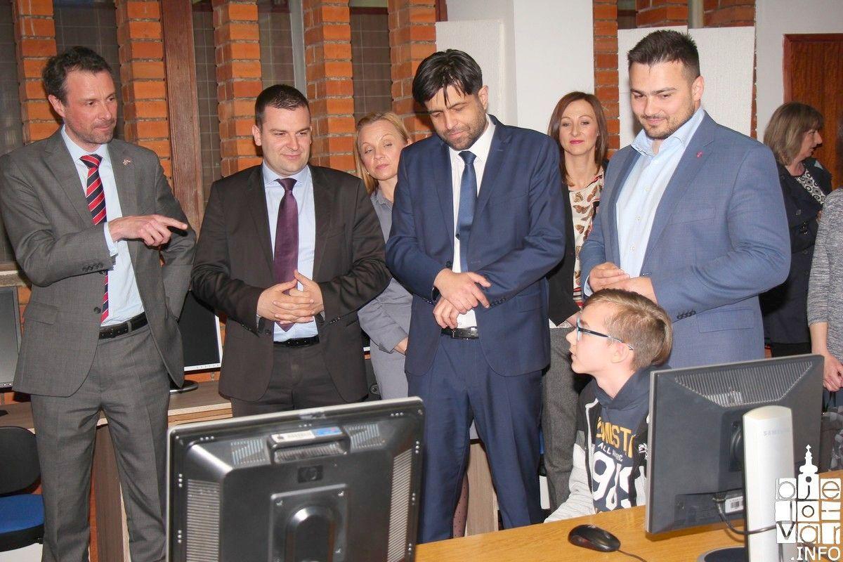Prilikom posjete Bjelovaru britanski veleposlanik iskazao interes za različite oblike suradnje