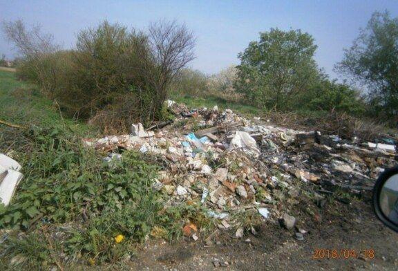 Komunalac apelira na građane grada Bjelovara da ne bacaju građevinski otpad u prirodu