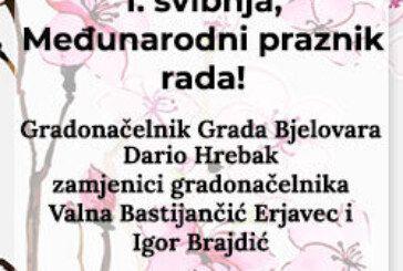 GRAD BJELOVAR – Proslava 1. svibnja, Međunarodnog praznika rada