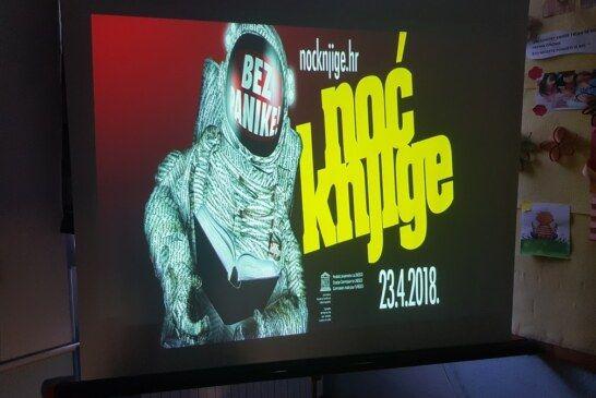 Obilježena Noći knjige u Osnovnoj školi Mate Lovraka u Velikom Grđevcu