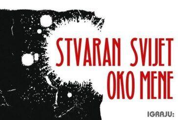 """Pretpremijera nove predstave Bjelovarskog kazališta """"Stvaran svijet oko mene"""""""