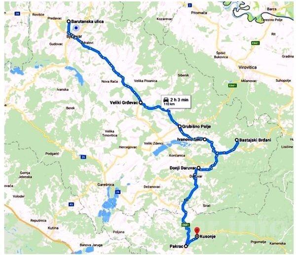 putevima bjelovarskih branitelja