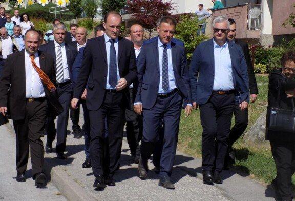 Predsjednik Hrvatskog sabora Gordan Jandroković posjetio gradove Garešnicu, Grubišno Polje i Daruvar