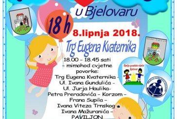Obavijest – Društvo Naša djeca Bjelovar organizira 9. CVJETNI KORZO