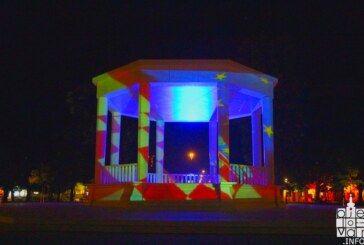 Povodom Dana Europe bjelovarski glazbeni Paviljon zasjao je u bojama Europske unije