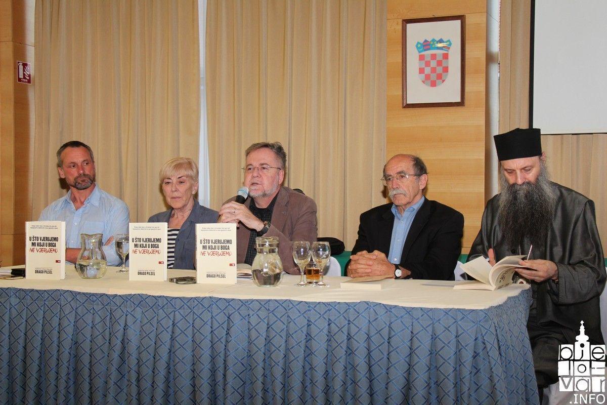 Knjiga autora Drage Pilsla svojim je intrigantnim naslovom okupila bjelovarsku publiku