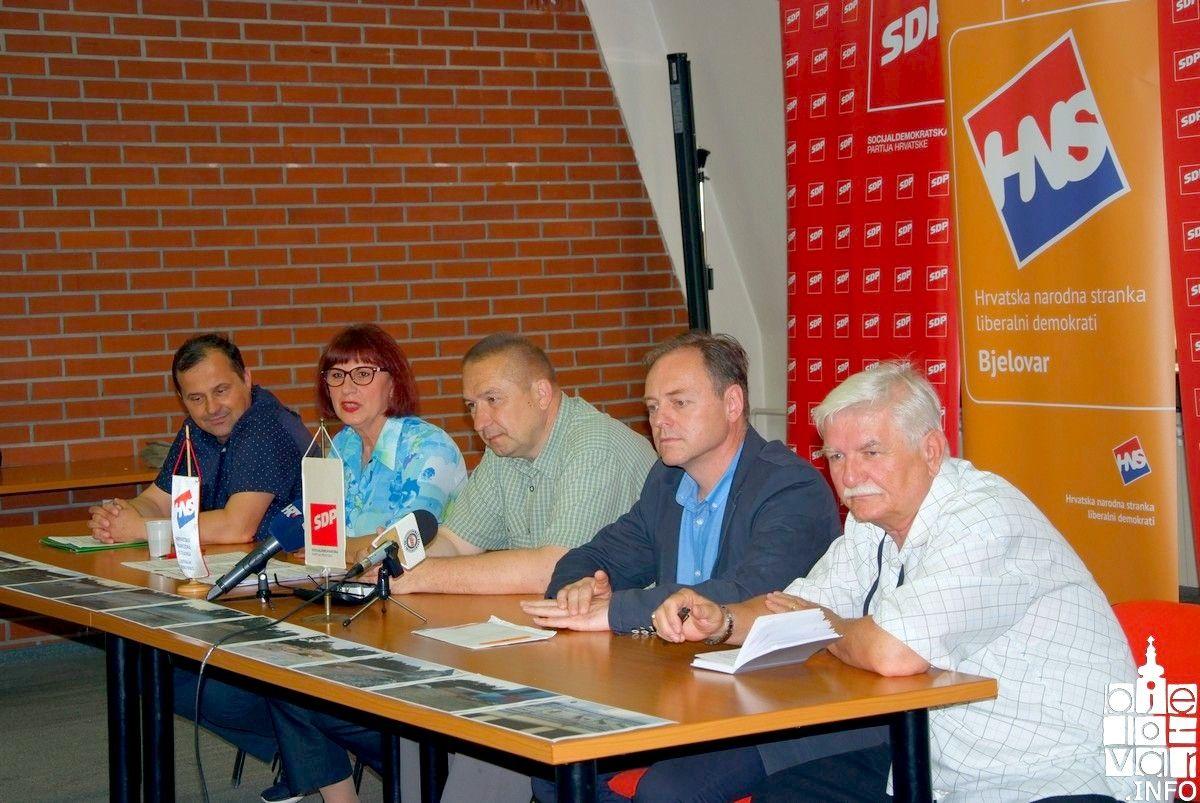 Bjelovarski oporbenjaci tvrde: Gradonačelnik je radovima na bazenu prekršio Zakon