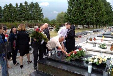 Županijski HSS obilježio godišnjicu tragične pogibije Tihomira Trnskog, prvog župana Bjelovarsko-bilogorske županije