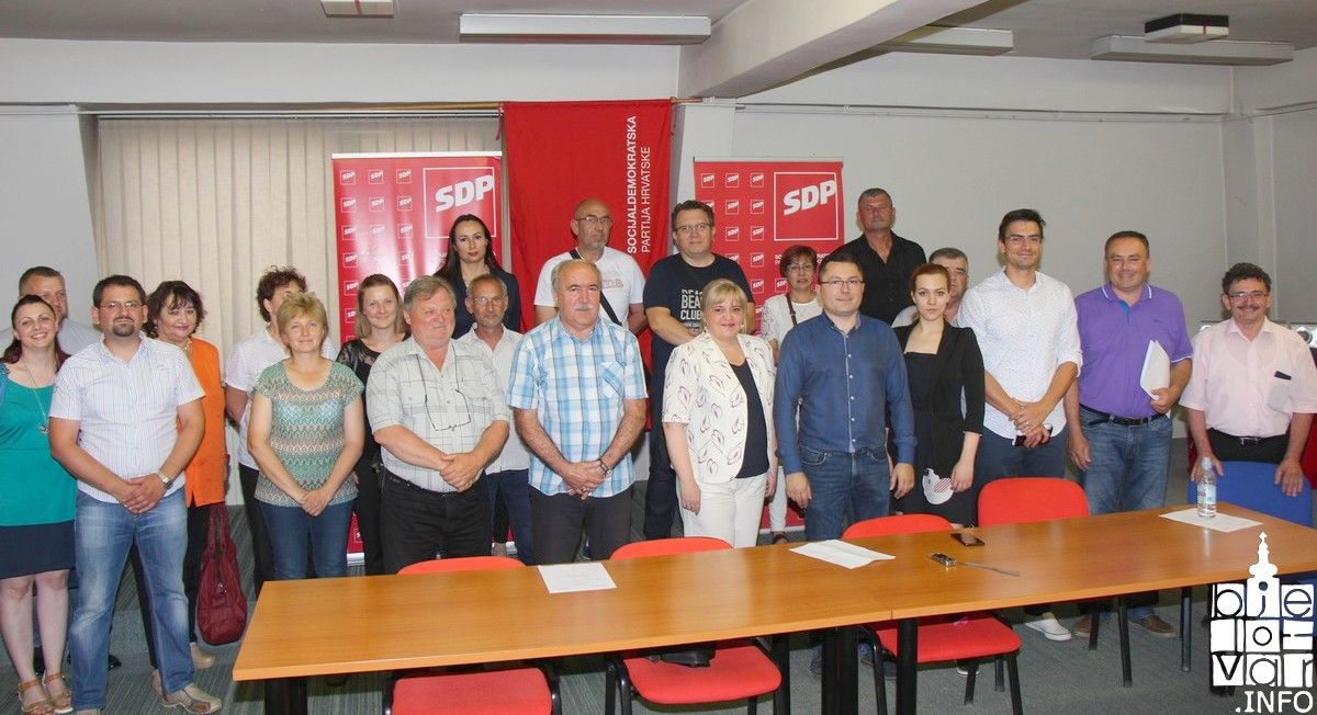 TIHOMIR JAIĆ predao kandidaturu za županijskog predsjednika SDP-a Bjelovarsko-bilogorske žuapnije