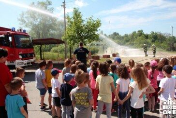 Dane otvorenih vrata Javne vatrogasne postrojbe Grada Bjelovara posjetilo preko 400 djece školske i predškolske dobi