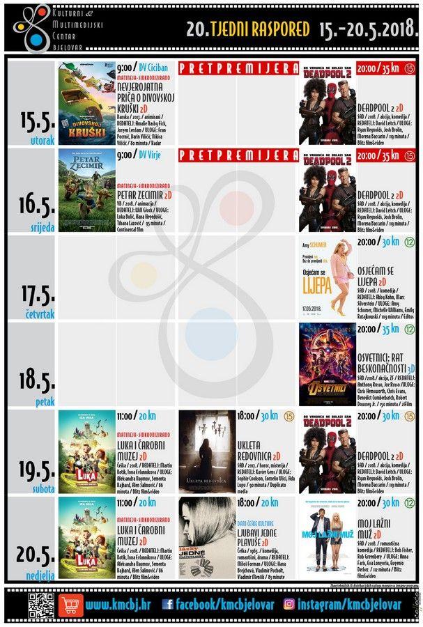Bjelovarsko kino – TJEDNI RASPORED_KMCBj (15.-20.5.2018.)