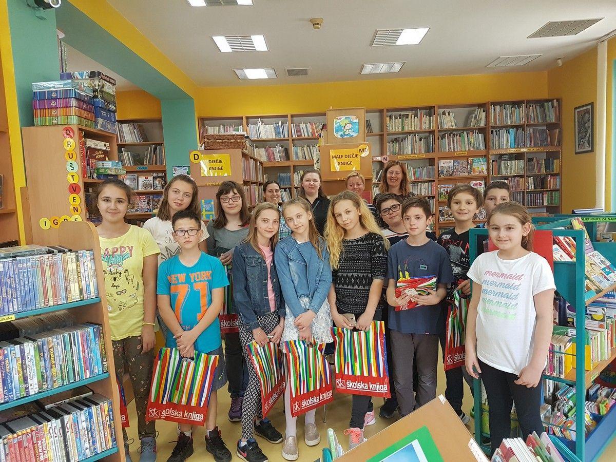 Po prvi puta održano natjecanje u Dječjoj knjižnici