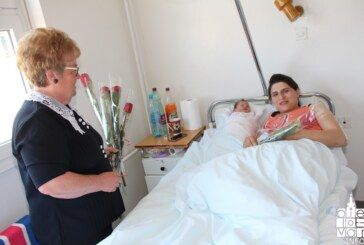 Povodom Majčinog dana: Žene udruge Srce Bilogora posjetile bjelovarsko rodilište