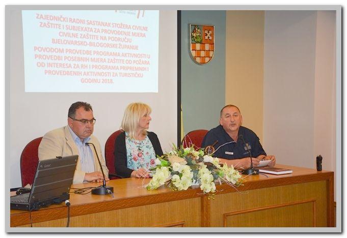 Stožer civilne zaštite BBŽ spreman za nadolazeću turističku i požarnu sezonu