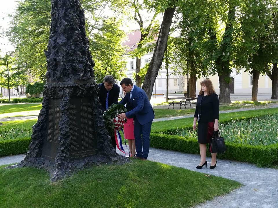Bjelovar - Obilježena 23. obljetnica akcije Bljesak