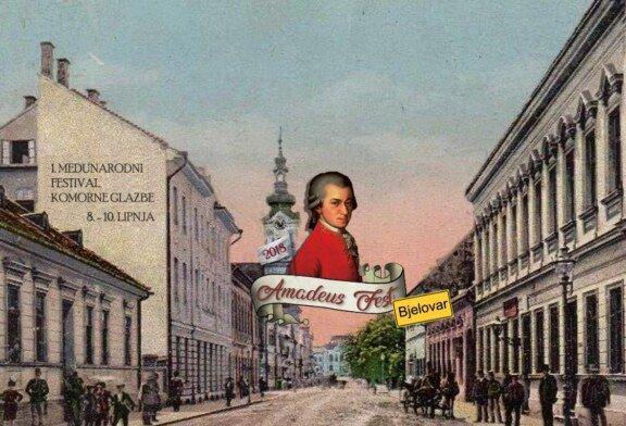 1. međunarodni festival komorne glazbe – Amadeus fest 2018. održat će se u Bjelovaru od 8.-10. lipnja