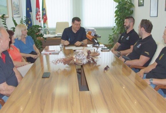 Župan Bajs podržao bjelovarske Argonaute u osvajanju ovogodišnjeg Domagojevog štita