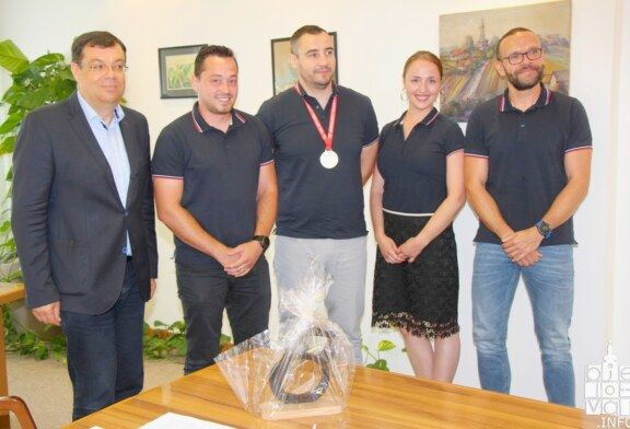 Župan Bajs organizirao prijem za Kettlebell klub Čazma koji je osvojio iznimne rezultate na Europskom prvenstvu u Mađarskoj