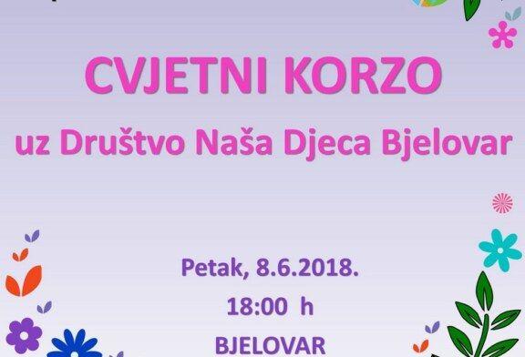 CVJETNI KORZO 2018. i događanja tijekom godine uz Društvo naša djeca Bjelovar