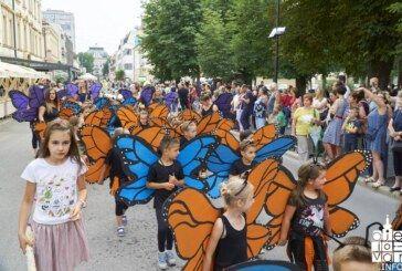 U Bjelovaru održana tradicionalna dječja manifestacija Cvjetno korzo 2018.