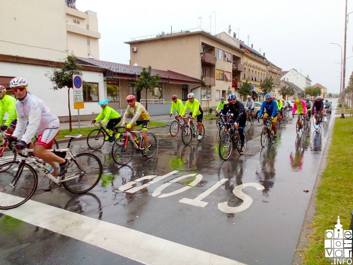 """Biciklistička karavana """"Put prijateljstva Vukovar-Ljubljana""""  i ove godine u Bjelovaru"""