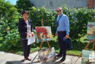 Humanitarna likovna kolonija u organizaciji poznate bjelovarske slikarice Anđelke Papić
