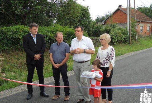 Mjesto Srijedska u općini Ivanska dobilo novu cestu