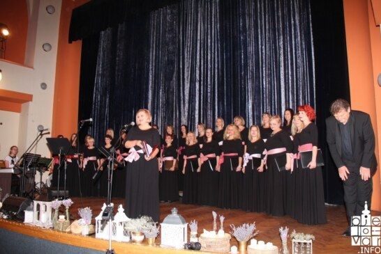 """Koncert bjelovarskog ženskog zbora """"Vox Feminae"""" oduševio bjelovarsku publiku odličnom glazbom i ugodnom atmosferom"""