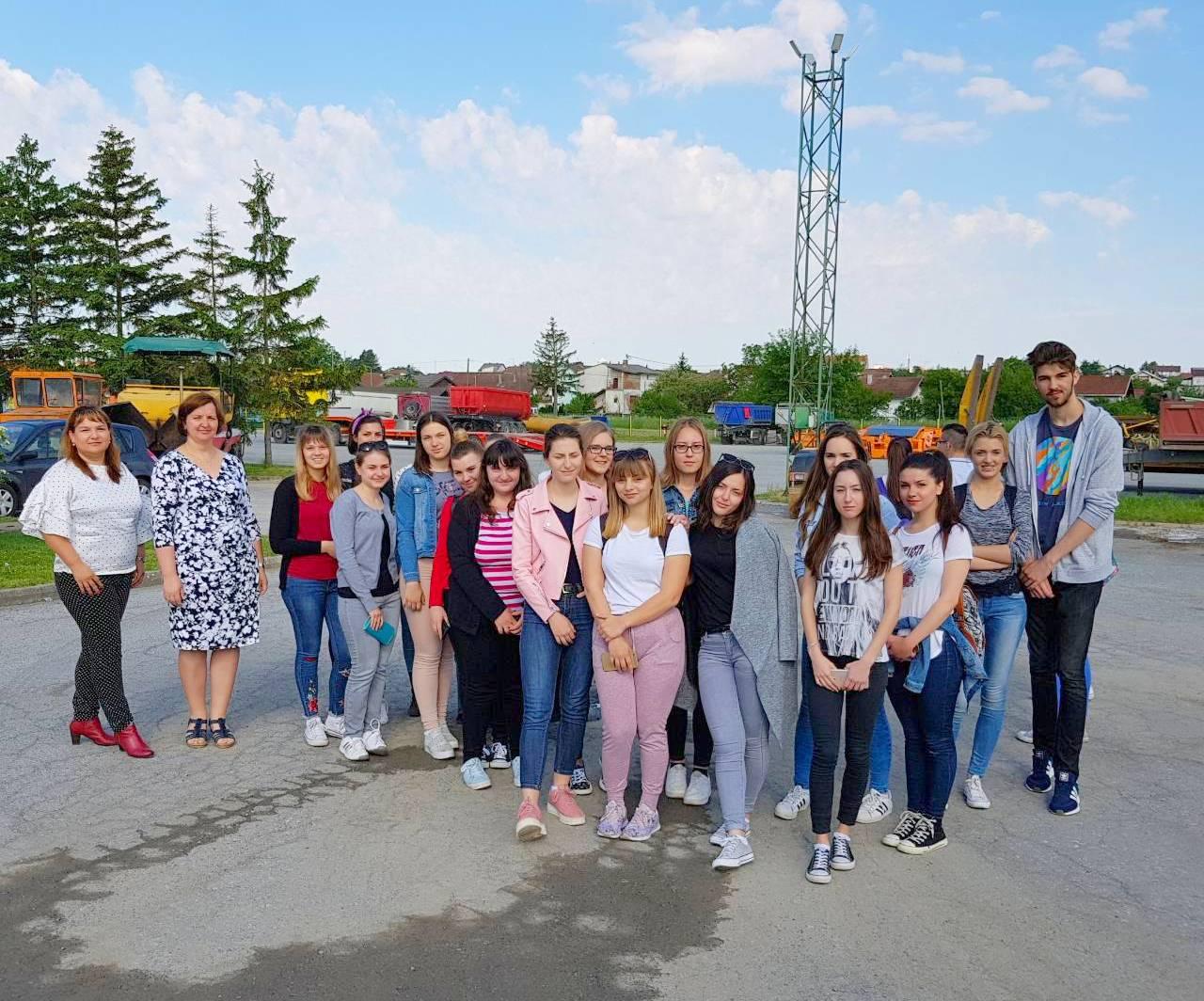 Stručni posjet Poduzeću za ceste d.o.o. Bjelovar