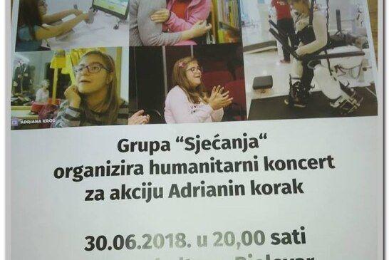 Još jedan humanitarni koncert za našu Adrianu Krog