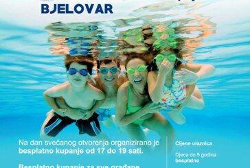 Otvara se kupališna sezona na bjelovarskim Gradskim bazenima