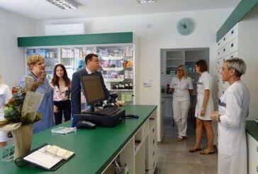 Grad Garešnica je bogatiji za još jednu novouređenu ljekarnu Doma zdravlja BBŽ i najavom projekta energetske obnove osnovne škole