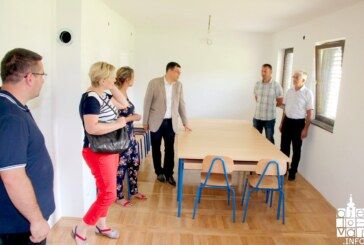 Župan Bajs obišao gradilišta u općini Kapela koja je u provedbi brojnih projekata