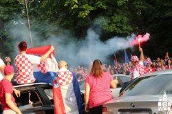 Bjelovar uz VATRENE do kraja: navijačka euforija počela u nedjelju u podne, a završila u kasnim noćnim satima