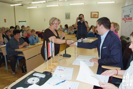 U Gradu Bjelovaru potpisan ugovor sa 77 dugotrajno nezaposlenih žena