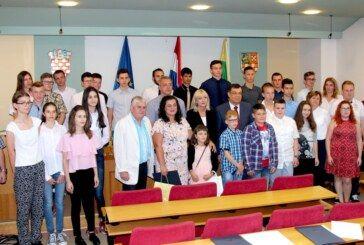 Od ove godine župan Damir Bajs uveo nagrađivanje uspješnih učenika