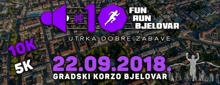 Fun run Bjelovar 2018