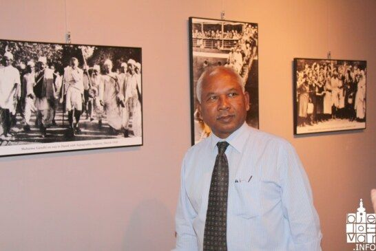 U Gradskom muzeju Bjelovar otvorena izložba fotografija Mahatma Gandhi uz nazočnost zamjenika veleposlanika Indije Jitendra Nath Majhi