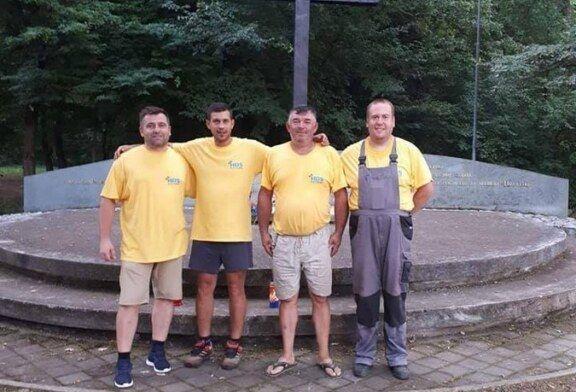 Zahvaljujući članovima HDS-a Bjelovar i Matice Hrvatske uređen prostor na Spomen području Lug