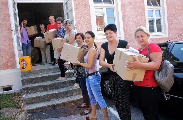U Čazmi podijeljeni prvi paketi u sklopu projekta