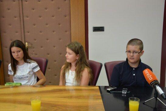U Bjelovarsko-bilogorskoj županiji održan prijem za mlade šahiste i šahistice iz Zrinskog Topolovca
