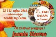 """Čazma – Eko sajam 22.-23.09.2018. """"Zdrava hrana vaš izbor"""""""