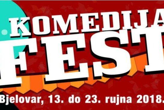 KOMEDIJA FEST od 13. do 23. rujna u Bjelovaru