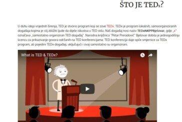 TEDx govori u Narodnoj knjižnici Petar Preradović Bjelovar