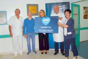 INA uručila donaciju Općoj bolnici Bjelovar u iznosu od 20 tisuća kuna