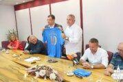 Župan Bajs primo predstavnike HNK Daruvar povodom obilježavanja 100 godina postojanja kluba